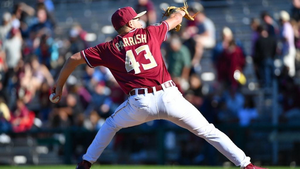 Parrish's Complete Game Caps Sweep of Irish