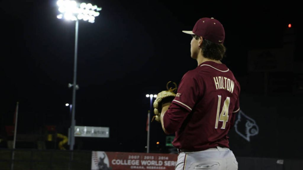 Holton Named ACC Pitcher of the Week for Record Fifth Time