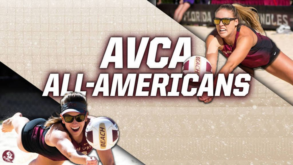 Andrew, Kuhlman Named AVCA Beach All-Americans