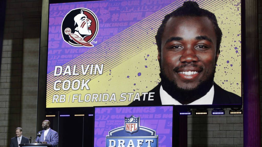 Cook To Vikings: I'm Going To Be 'The Best Dalvin I Can Be'