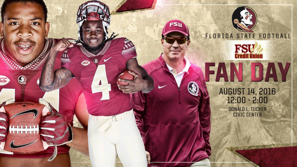 2016 FSU Credit Union Fan Day Set For August 14