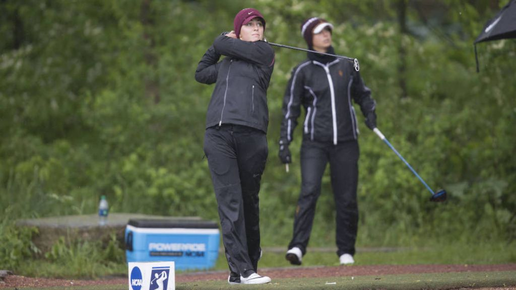 Kim Metraux Leads Seminoles Through Day 1 of NCAA Finals