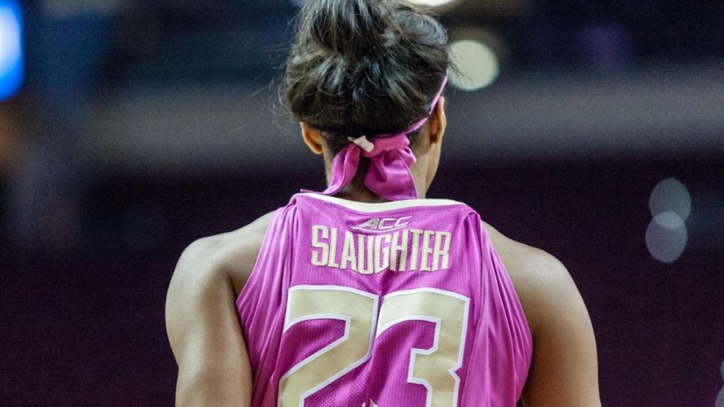 No. 10 #FSUWBB Hosts No. 2 Notre Dame in 'Paint it Pink' Game
