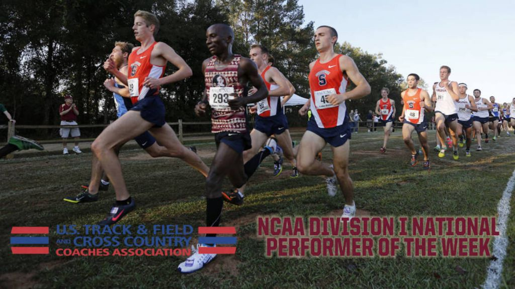 XC's Mulenga Earns National Performer Of The Week Honor