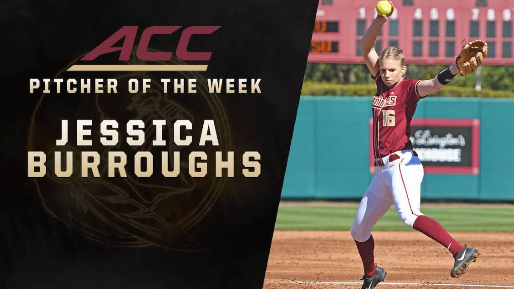 FSU Jumps To No. 1; Burroughs Earns ACC POW
