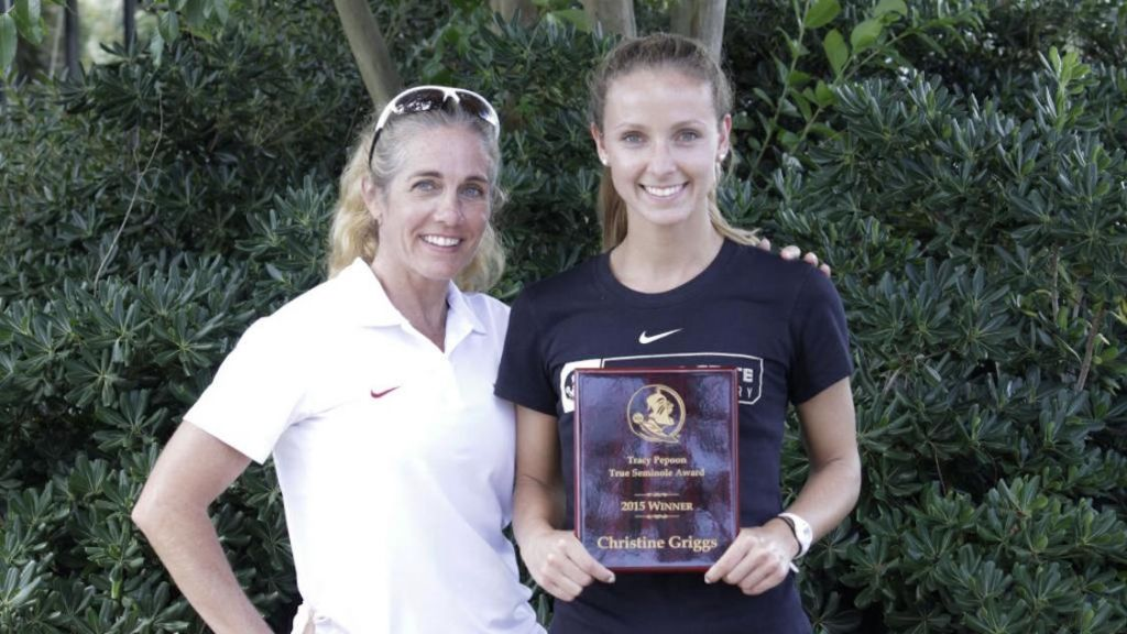 NCAA East-Bound Griggs Honored With Pepoon True Seminole Award