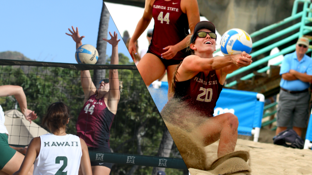 Andrew, Kuhlman lead Beach Volleyball on Day One in Miami