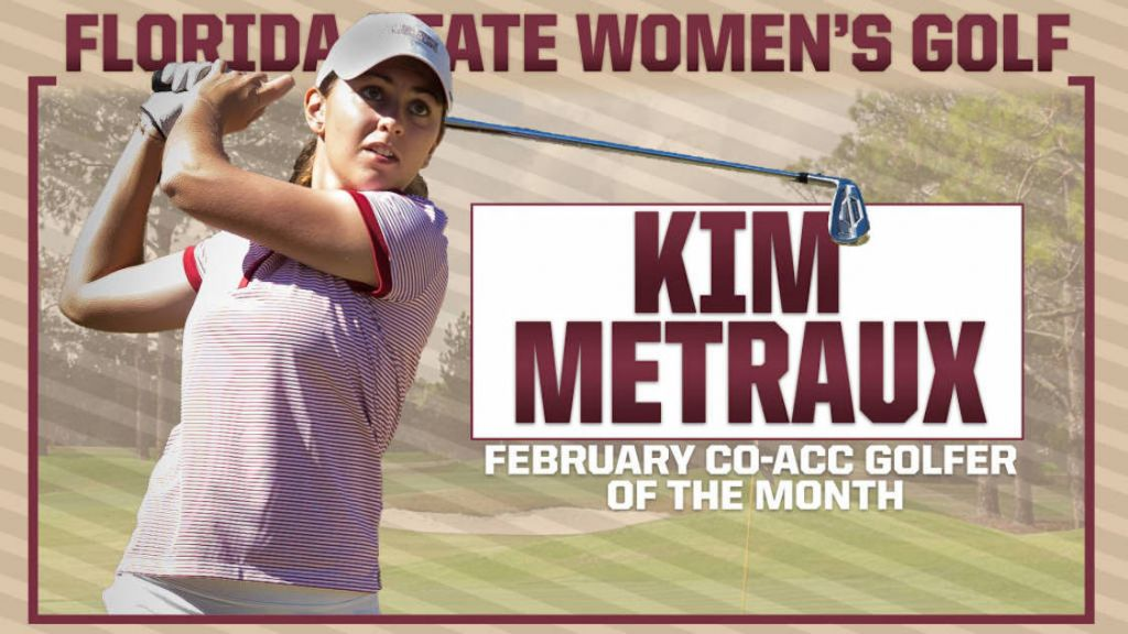 Kim Metraux Earns ACC Golfer of the Month Honors