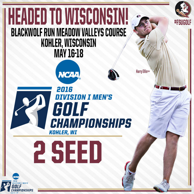 #FSUGolf Selected to 11th Straight NCAA Regional