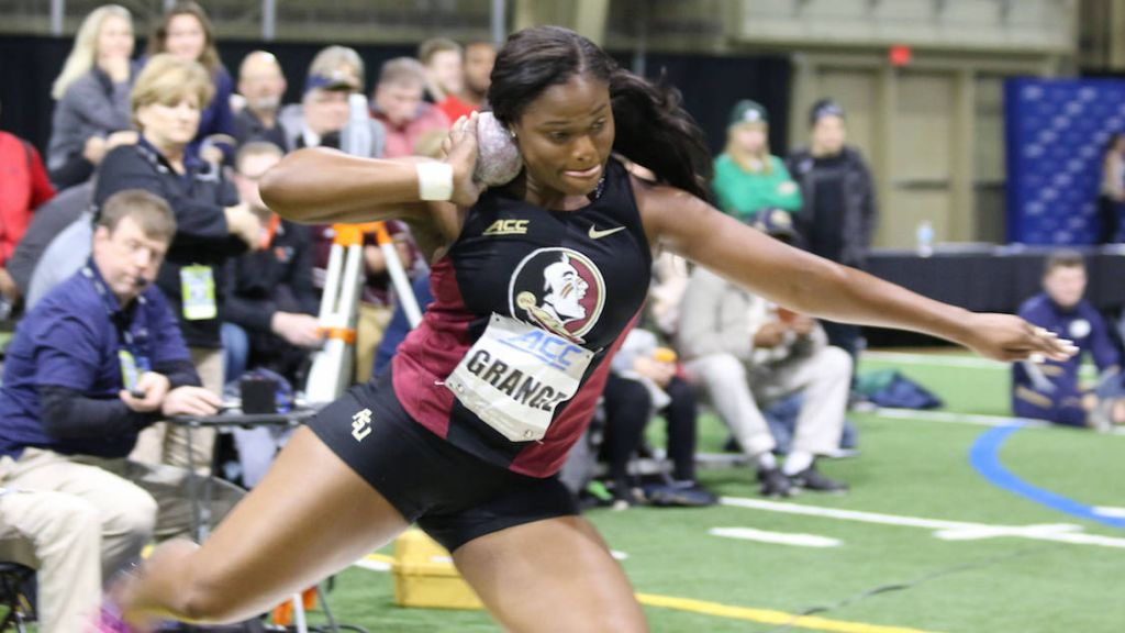 Haraway Sprints To Gold Double; Men, Women Finish Third