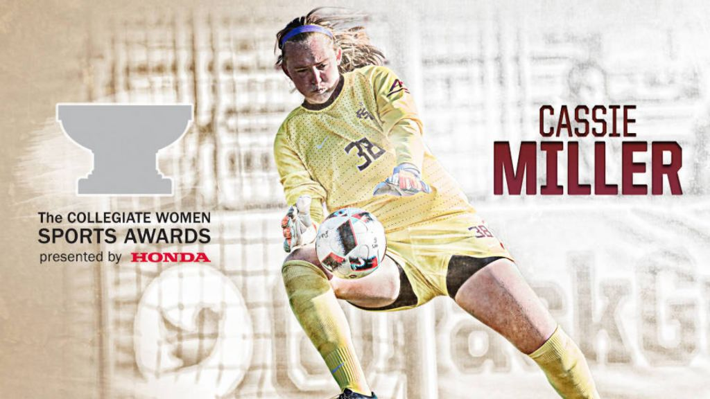 Cassie Miller Named Honda Award Nominee