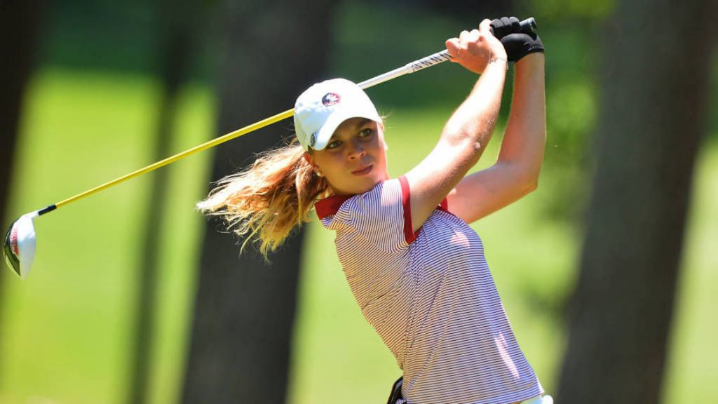 Women's Golf In First At Cardinal Cup