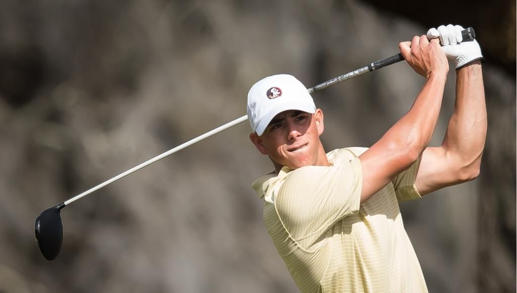 Carlson, Lee Leading Men's Golf