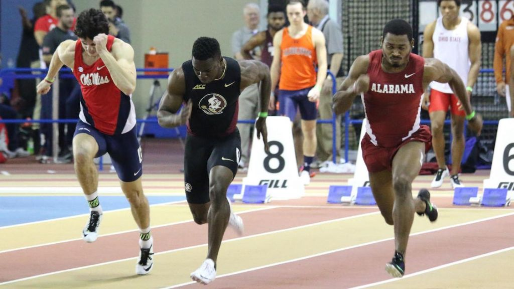 Noles Grab Three Silvers On Track At Conference Clash