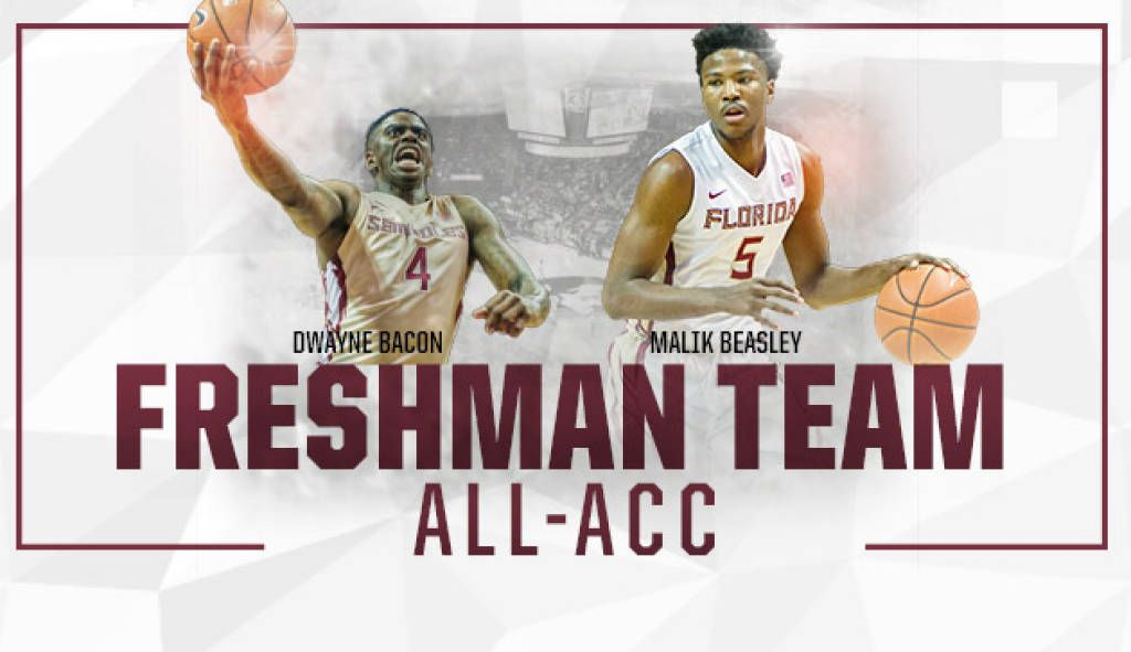 Bacon And Beasley Named To All-ACC Freshman Team
