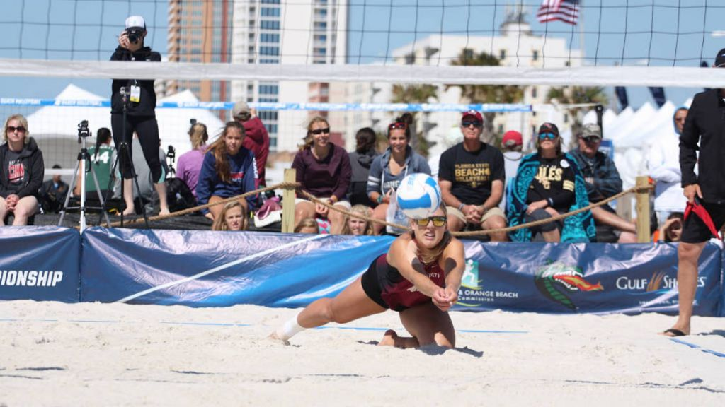 Beach Volleyball Finishes Fourth at NCAA Championship