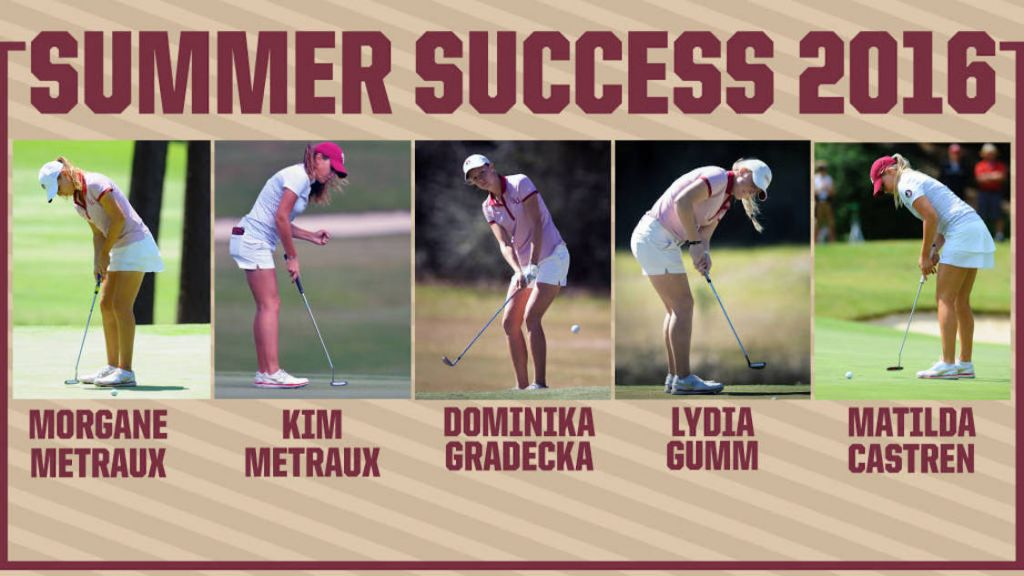 Seminoles Golfers Enjoying Strong Summer