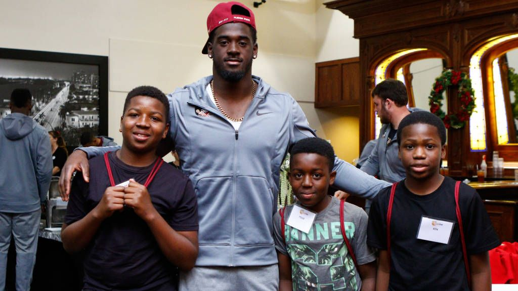 FSU Visits Dave & Busters as Part of Charity Outing