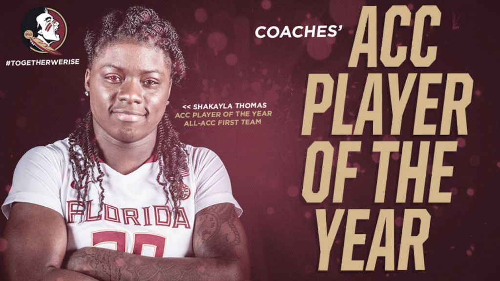 Thomas Named ACC Player of the Year