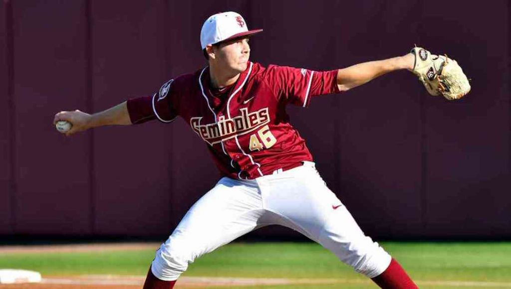 Carlton, Nieporte Key In No. 8 FSU's 10-0 Shutout