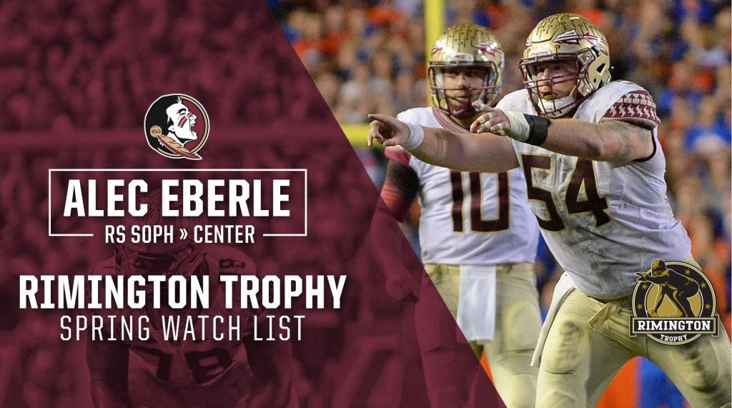 Eberle Named to Rimington Trophy Spring Watch List