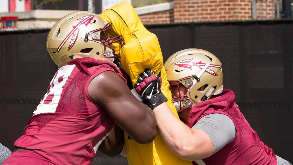FSU Holds First Practice of the Spring