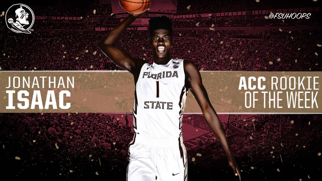 Isaac Named ACC Rookie Of The Week