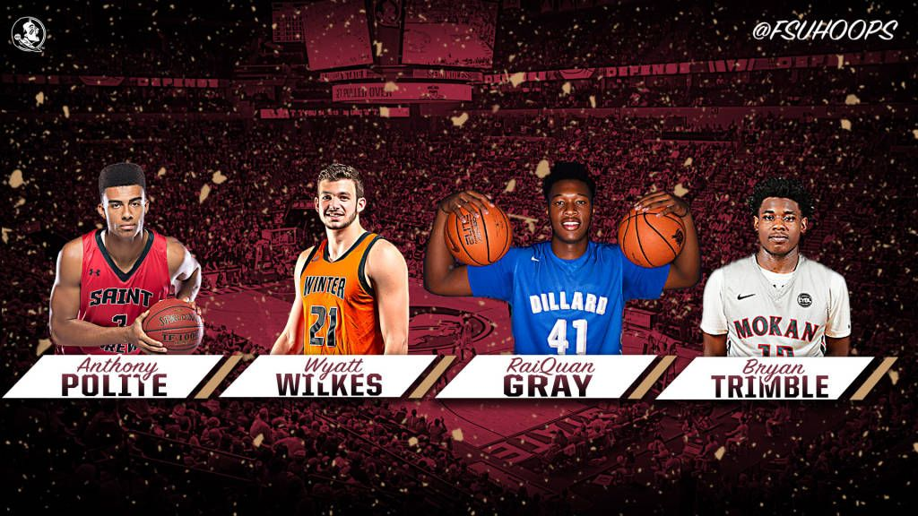 Basketball Signs Four Outstanding Players
