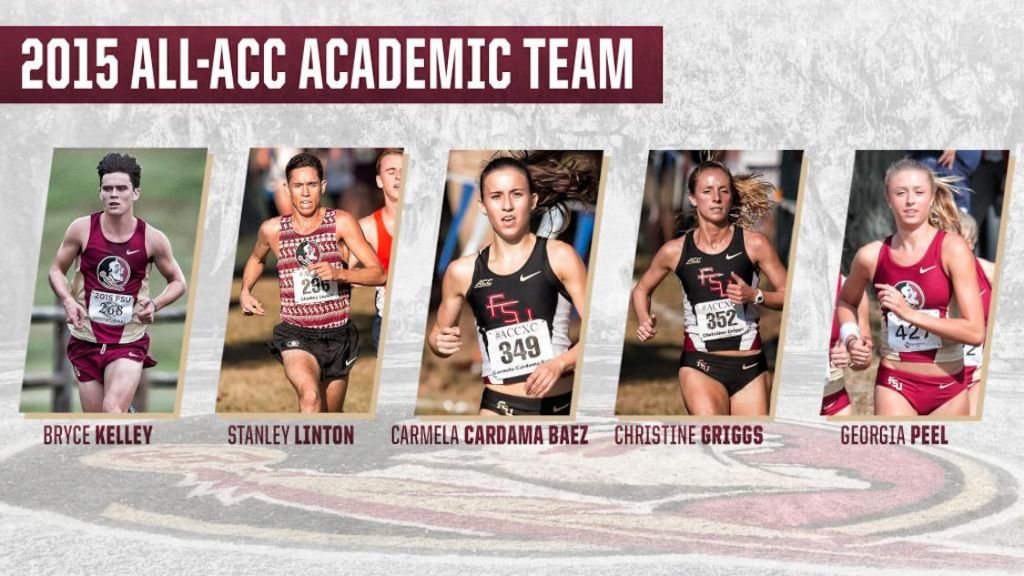 Five Cross Country Noles Earn All-ACC Academic Honors