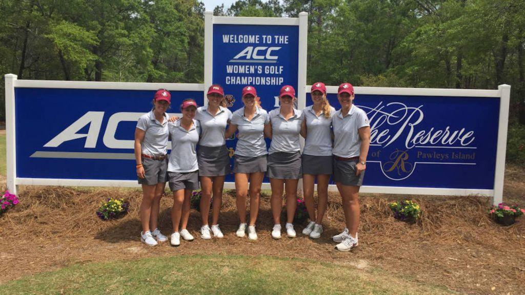 Women's Golf Begins Play In ACC Championships Thursday