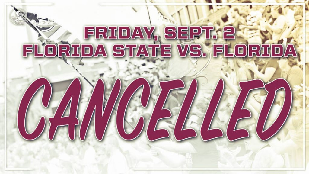 Friday's Match With Florida – Cancelled
