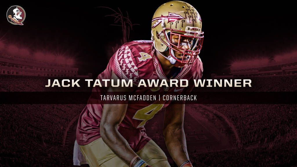 McFadden Named 2016 Jack Tatum Award winner