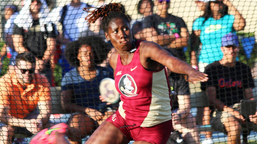 Rhoden Goes To School: Knibb Wins Discus At UF