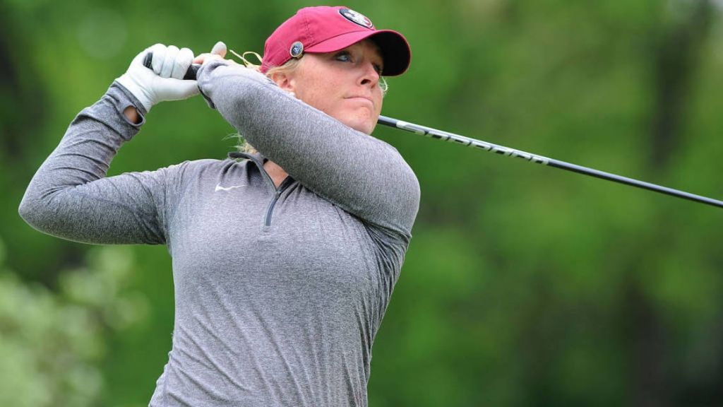 Gumm Leads Seminoles In Final Round Of NCAA Championships