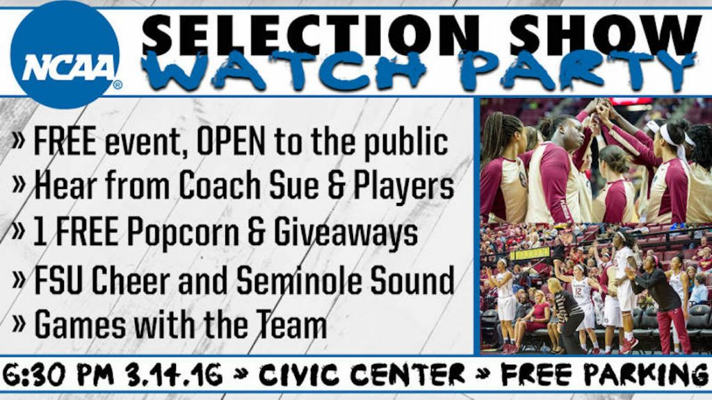 Come Out to the #FSUWBB Watch Party!
