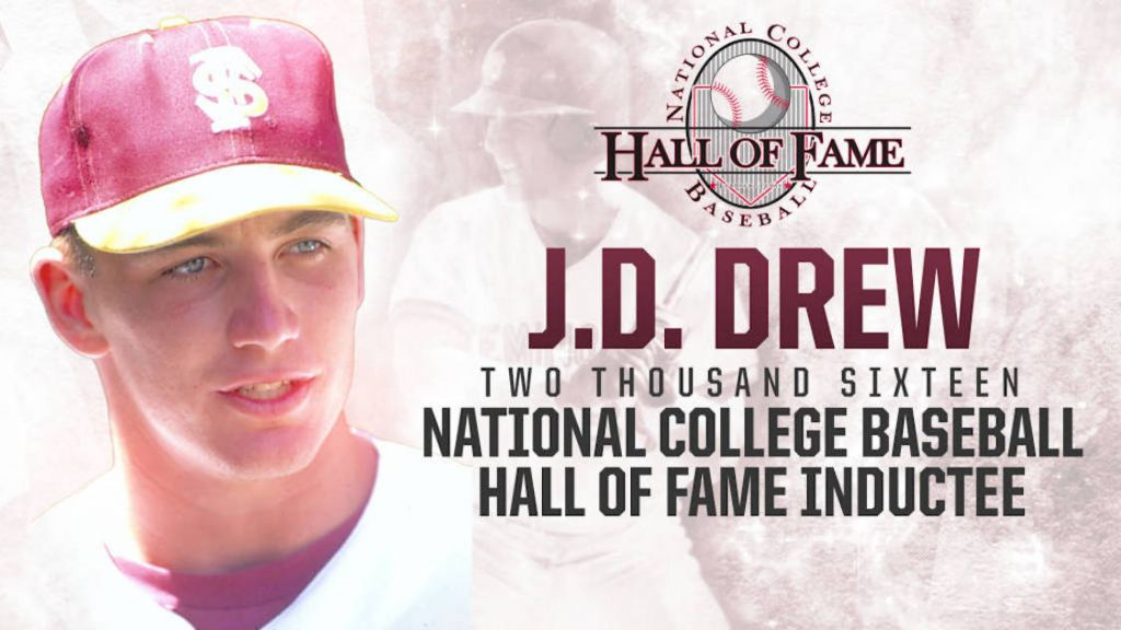FSU's Drew Elected to 2016 College Baseball Hall of Fame