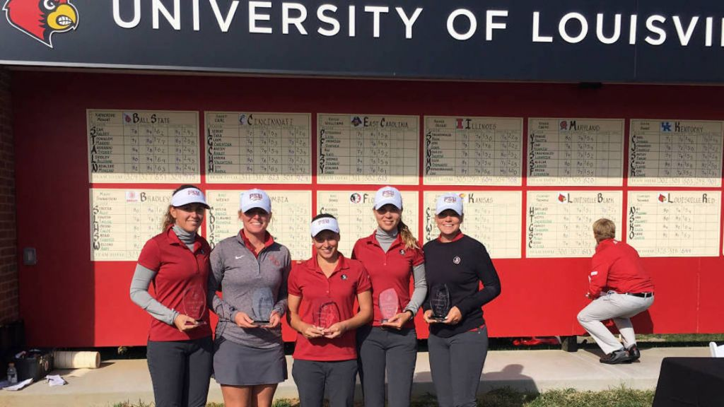 Women's Golf Wins Cardinal Cup