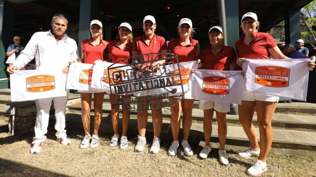 No. 4 Women's Golf Wins Clemson Invitational