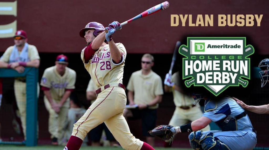 Busby Participating in TD Ameritrade College Home Run Derby
