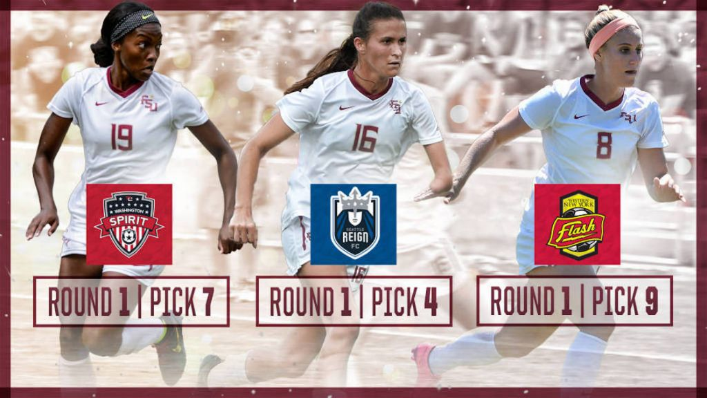 Three Seminoles Selected In First Round Of 2016 NWSL Draft