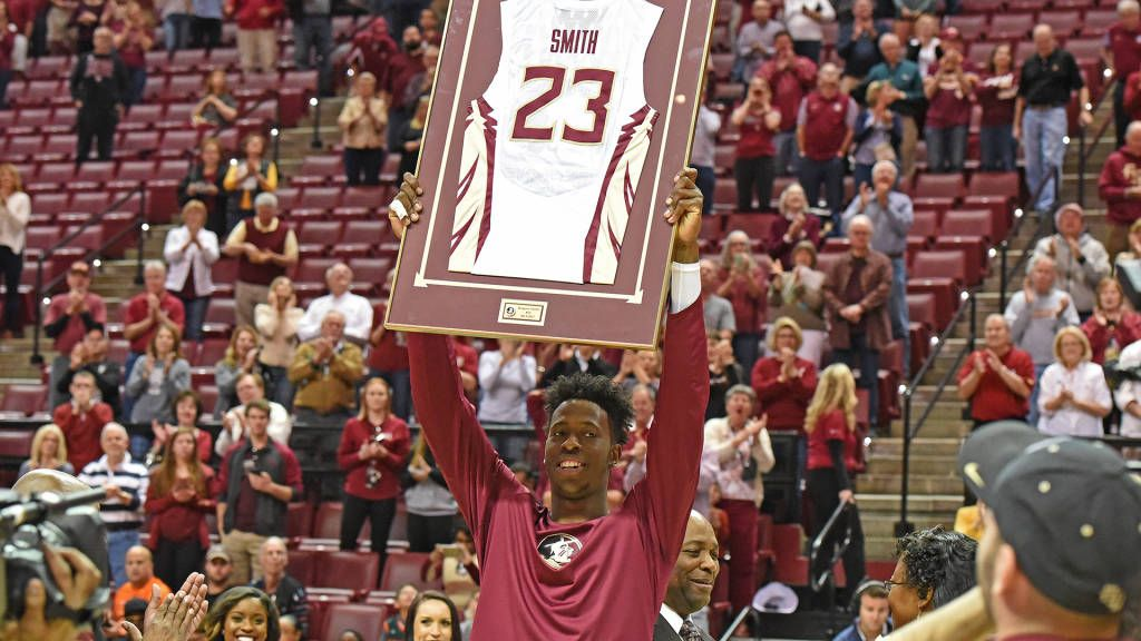 Smith Has A Senior Day To Remember