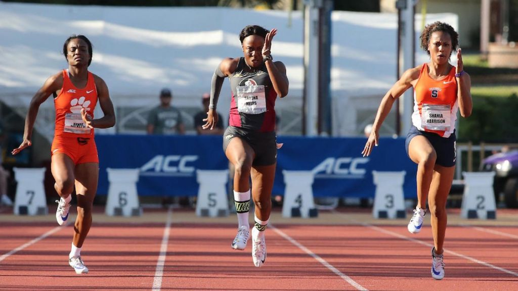 Knibb Wins Discus And Helps Puts Foot Down To Win ACC Track Title
