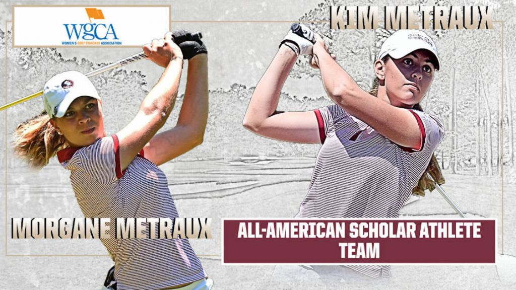 Kim And Morgane Metraux Named To WGCA All-American Scholar Team