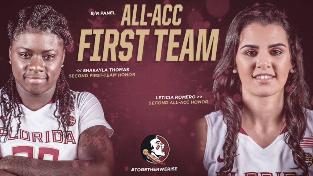 Thomas, Romero Named to All-ACC First Team