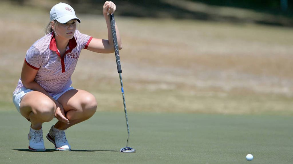 Castren Leads Seminoles Into 2nd At NCAA Regional Championship