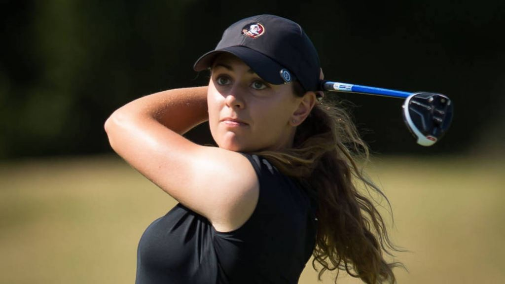 No. 4 Women's Golf Tied For 3rd At ACC Championships