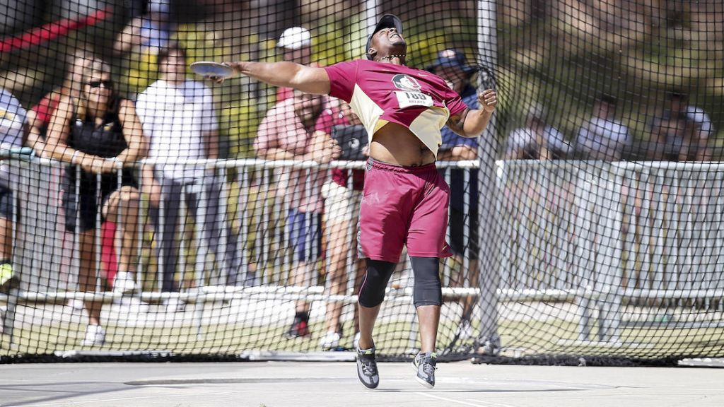 Throws Early, Races Late Equal Winning FSU Relays Formula