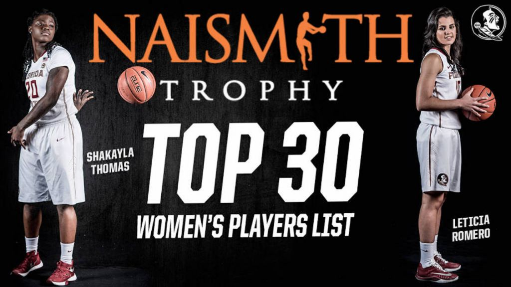 Two Noles Make Naismith Top 30