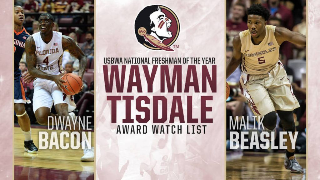 Bacon And Beasley Named To Tisdale Award Watch List