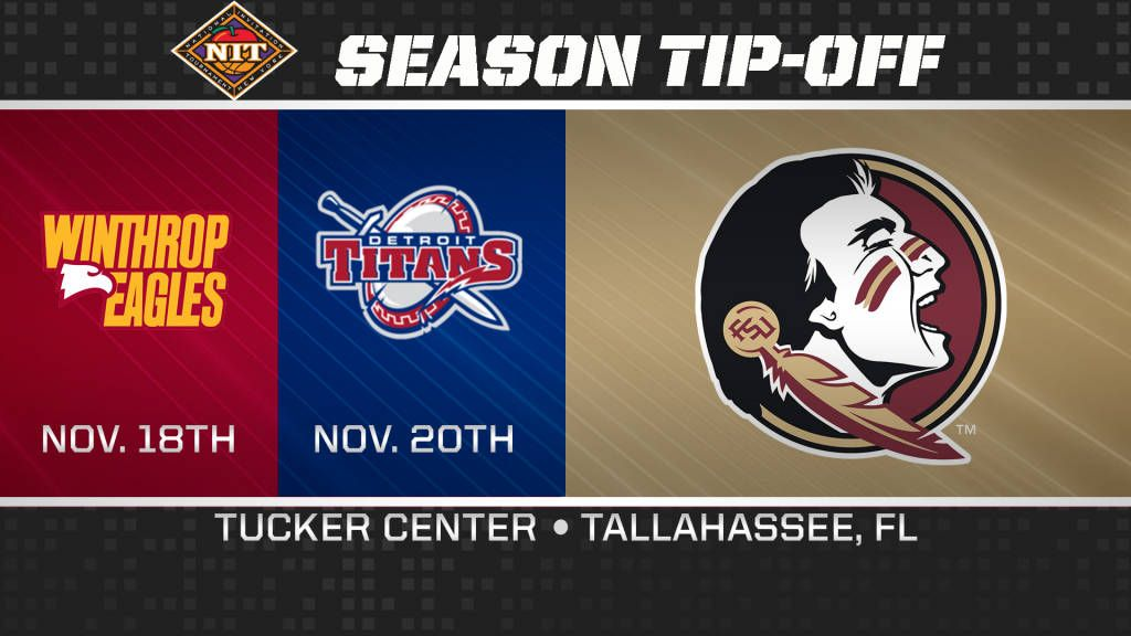 Seminoles To Face Winthrop And Detroit In NIT Season Tip-Off